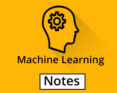 Machine Learning Notes