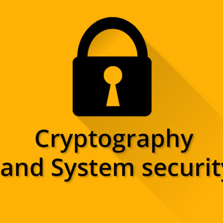 Cryptography and System Security