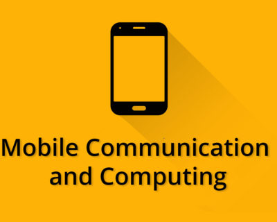 Mobile Communication and Computing / Wireless Technology