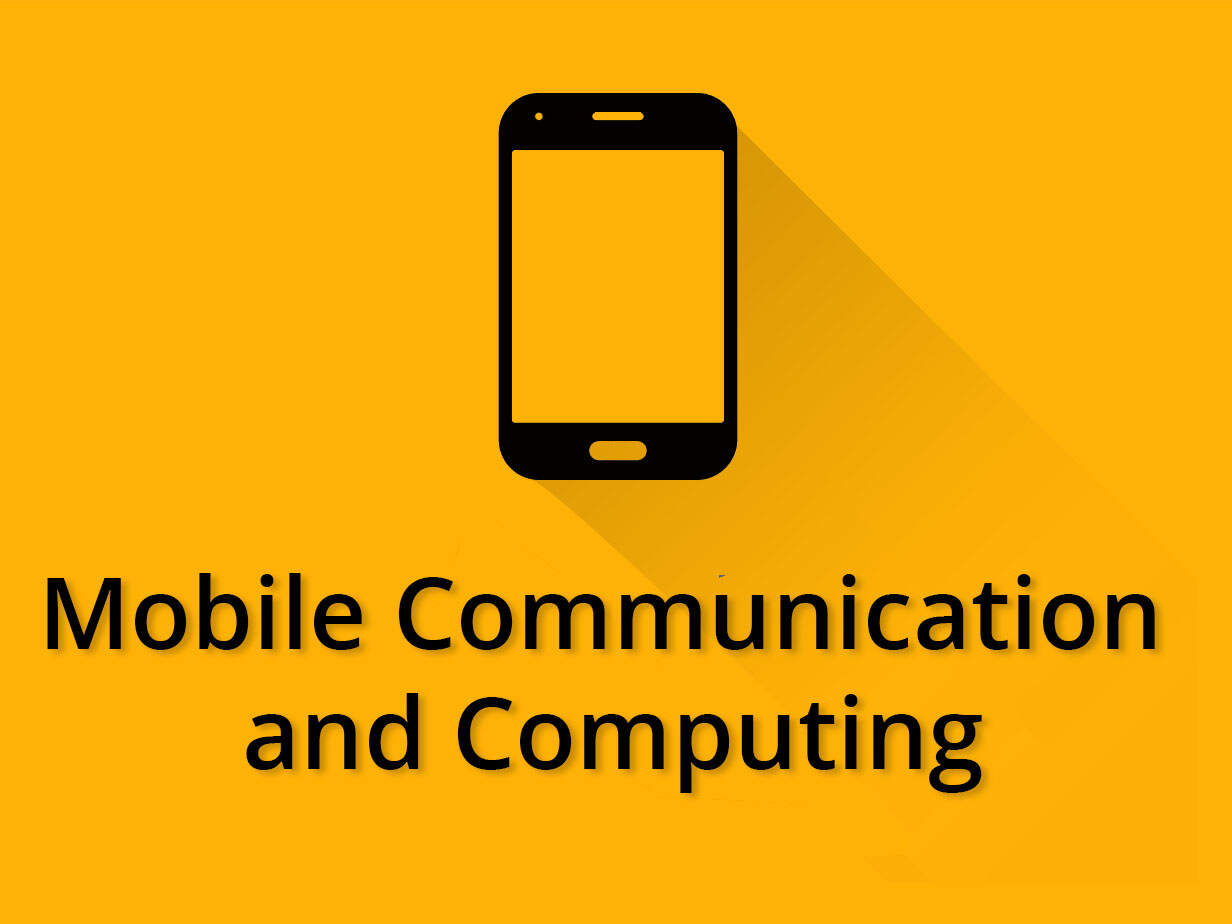 Mobile Computing and Communication