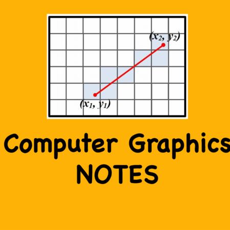 Computer Graphic Notes