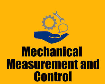 Mechanical Measurement and Control