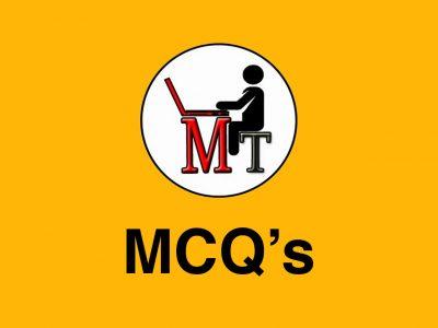 Maths 4 MCQ's