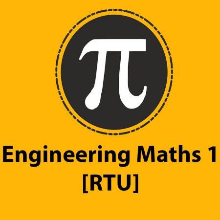 Engineering Maths 1 [RTU]