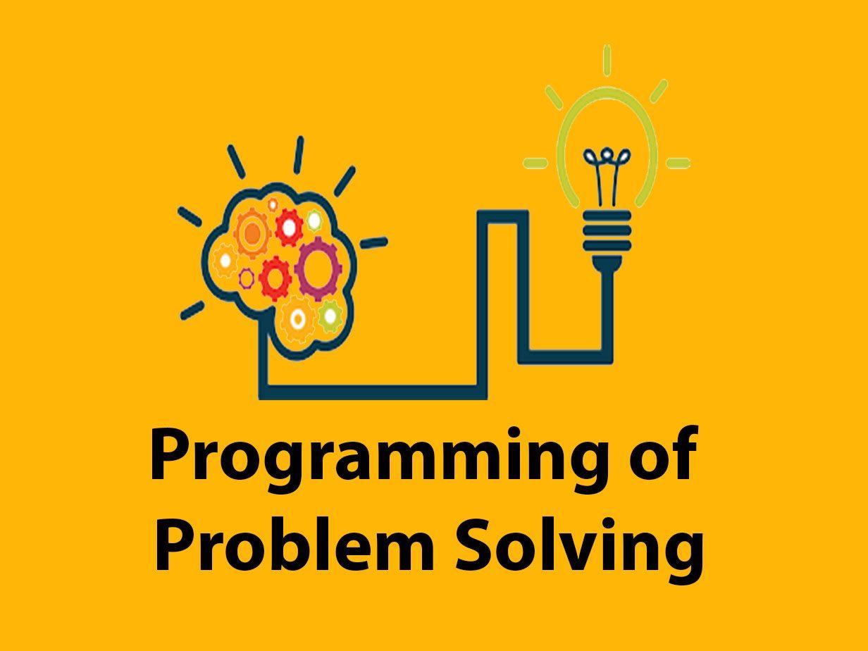 programming of problem solving